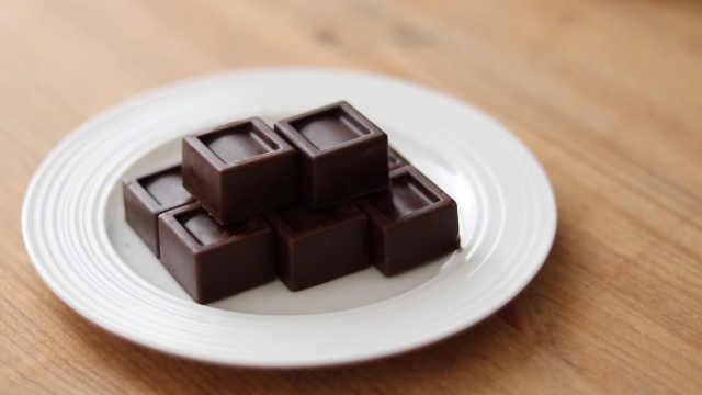 香浓美味的巧克力咸焦糖