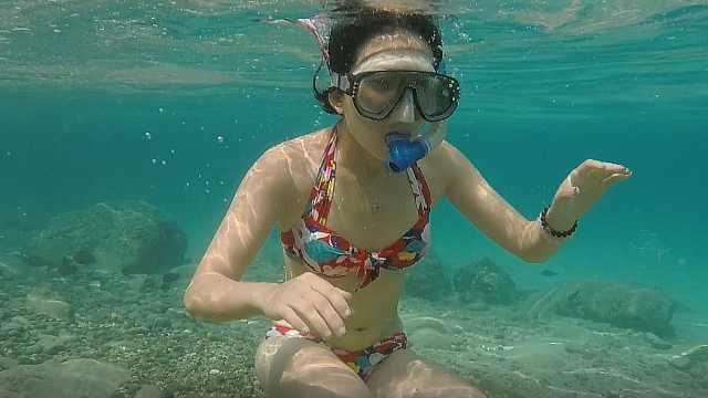 越南芽庄清澈见底的海底世界!