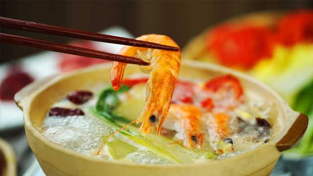 当火锅与清粥相逢,好吃到舔锅底!