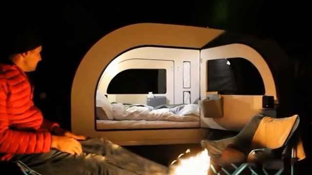 露营还在搭帐篷?这个神器堪比房车