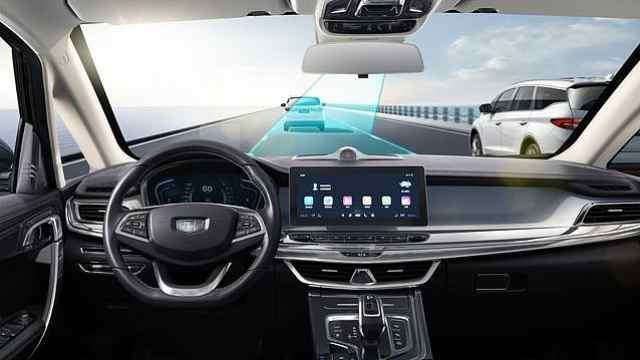 试驾吉利嘉际的ICC智能领航系统