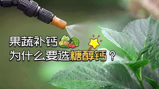 果蔬补钙,为什么要选糖醇钙?