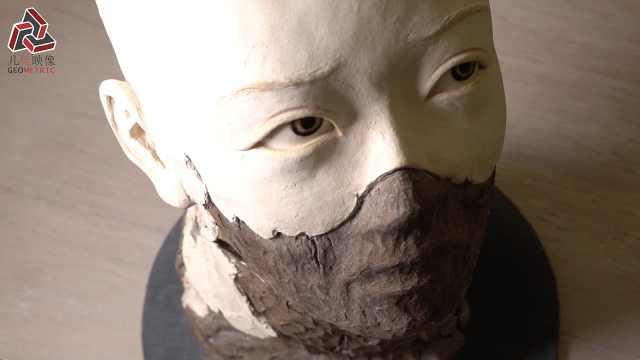 卢世强,用雕塑展示人世间喜怒哀乐