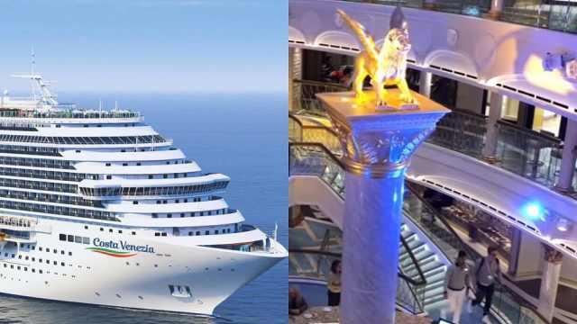 意公司为中国游客打造50亿豪华邮轮