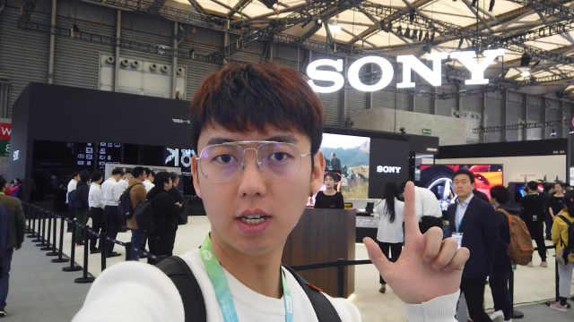 8K HDR新视界AWE2019索尼展区之旅