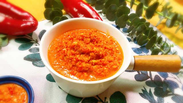 鲜辣椒酱在手,不怕没胃口!