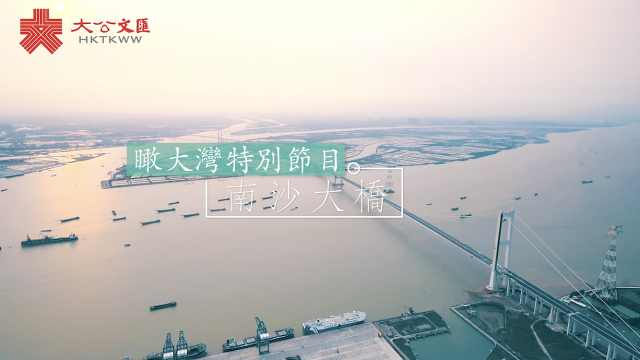 瞰大湾特别节目 · 南沙大桥