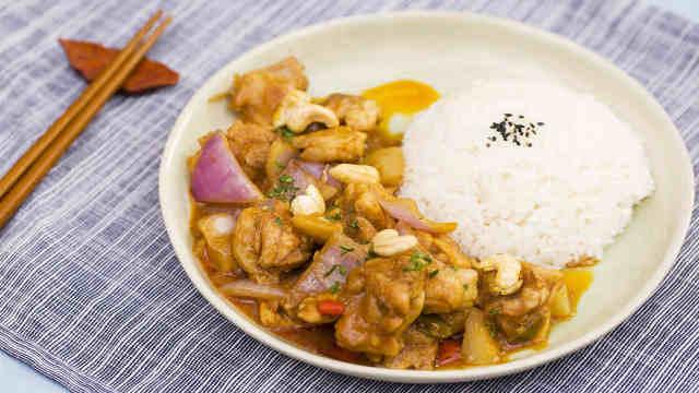 零失误的泰式椰香咖喱鸡