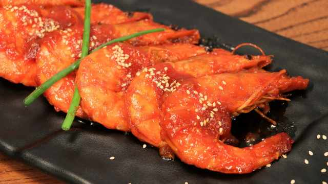 茄汁油焖大虾的做法,高成功率大菜