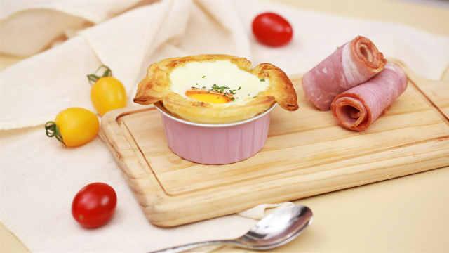 自制人气法式早餐万能酥皮烤蛋