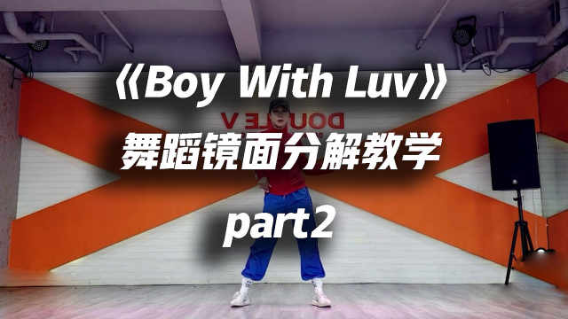 BTS《Boy With Luv》教学part2
