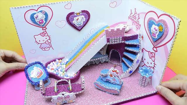 迷你娃娃屋,凯蒂猫主题的游乐园