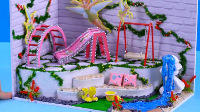 花仙子主题的游乐园