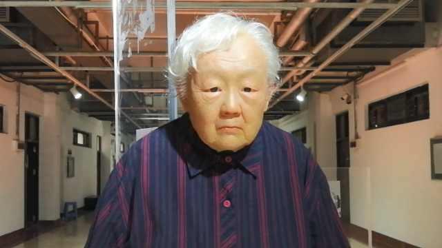 太逼真!美院学生雕刻2075年的自己