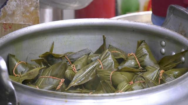 4代手工粽子传承百年:20多种口味