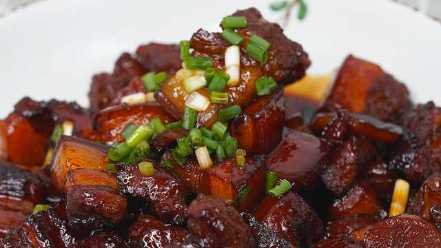 电饭煲版红烧肉,好吃哭了!