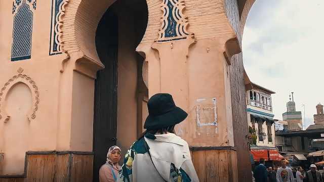 超凡北非摩洛哥千年古城菲斯麦地那