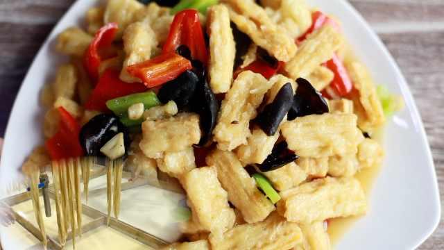 从黄豆到腐竹,它到底经历了什么?