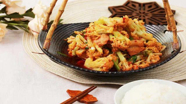 干锅花菜,横扫你碗中的米饭!