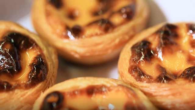 澳门旅游首推美食葡式蛋挞
