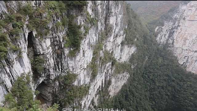 探秘广西百色神秘莫测的大石围天坑