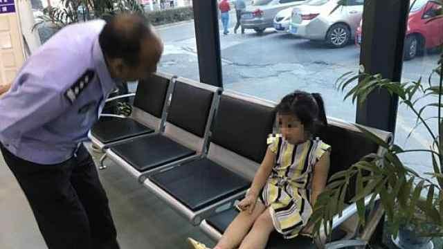 3岁女孩走失后,上演教科书式求助